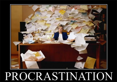 Procrastination Kills ...